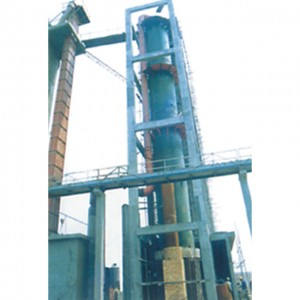Coal powder clay stone rotary dryer