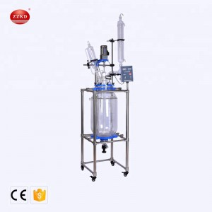 Excellent Service 50L Jacketed Glass Reactor
