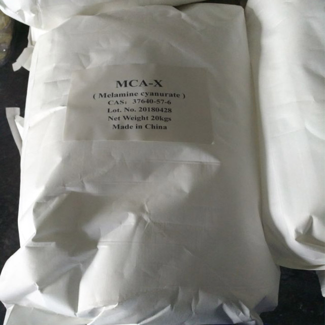 global and china melamine cyanurate mca Mca, melamine cyanurate salt molecular formula: c 6 h 9 n 9 o 3, molecular weight: 25524 melamine cyanurate salt is greasy white crystalline powder with excellent nitrogen and halogen-free flame retardant.